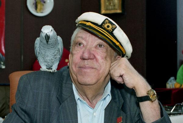 """Никулин радовал анекдотами в """"Белом попугае"""""""