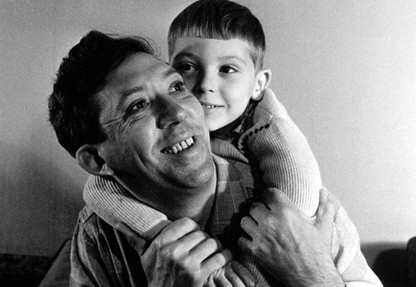 С сыном Максимом