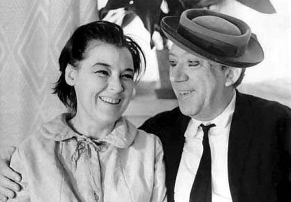 Супруги вместе снимались в фильмах