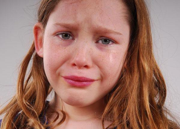 В подростковом возрасте часто возникает плаксивое настроение