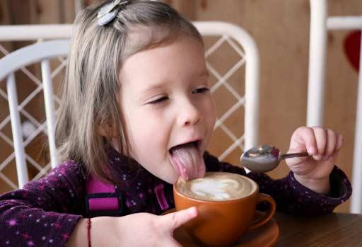 Детям пить кофе не рекомендовано педиатрами