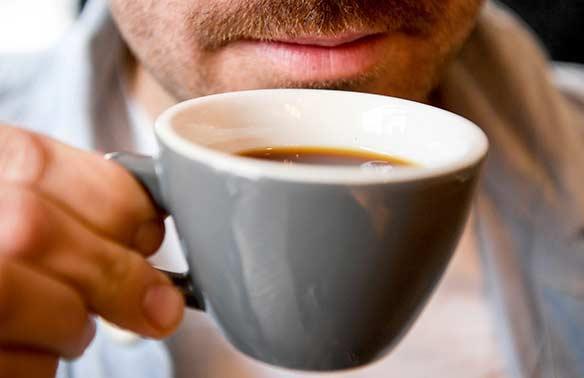 У мужчин часто появляется зависимость от кофе