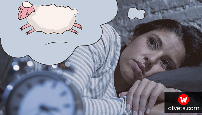 Почему мучает бессонница по ночам, причины